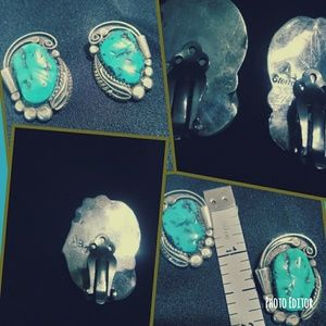 Jewelry - Vintage sterling silver and turquoise
